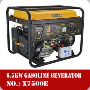 2015 heißes Sale 6.5kw Copper 100% Wire Gasoline Generator