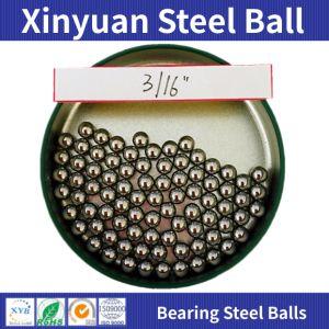 AISI 52100 la bola de acero cromo duro 3/16 de 4.763mm G500 Teniendo las bolas de acero