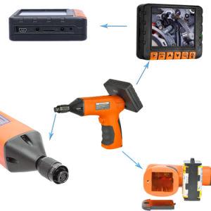Ordinateur de poche avec Camera Inspection 8.5mm Lens, câble de contrôle de 1 m, écran LCD 3,5 pouces