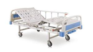 Cama de Hospital de atendimento manual de dupla função