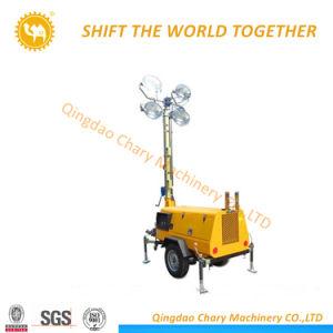 携帯用ディーゼル移動式発電機の軽いタワー