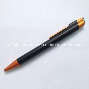 까만 선전용 플라스틱 펜 (P1021C)