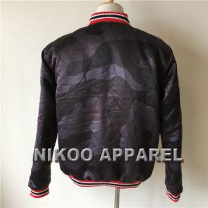 면 패딩 겨울 재킷을%s 가진 폭격기 재킷을 인쇄하는 주문 승화