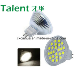 4W 5050 SMD LED Spot Light Glass in Cool White