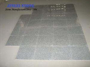 Het Lichtgrijze Graniet van de Steen van de paddestoel G603 voor de Hoek van de Muur vlamde het Opgepoetste Vloeren van de Tegels van de Muur