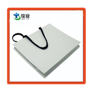 Fábrica de China al por mayor baratos Compras reutilizable bolsa de papel plegado
