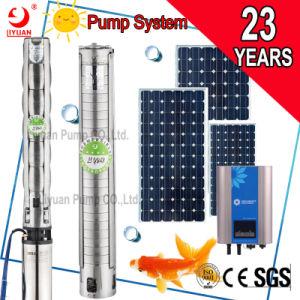 우물을%s 태양 배터리 전원을 사용하는 관개 물 잠수할 수 있는 태양 수도 펌프