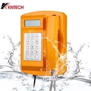 Nuevo teléfono de teclado resistente al agua de metal pesado Teléfono
