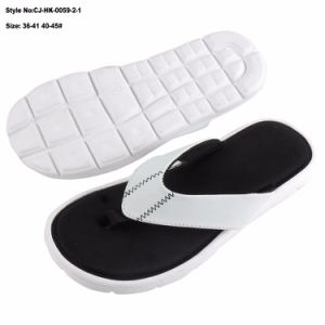 La haute couture semelle EVA Mousse à mémoire de la diapositive des sandales
