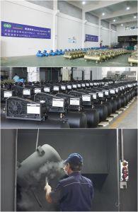 compressore d'aria azionato a cinghia di 4kw 5.5HP 100L 8bar (V-0.6/8)