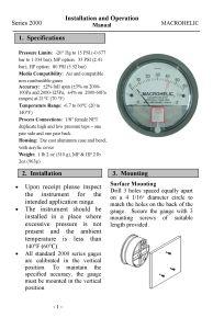 Micro manometro differenziale all'ingrosso per gas, aria