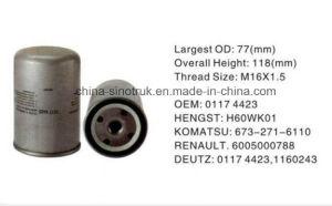 Deutz 01174423のための自動車部品の燃料の石油フィルター