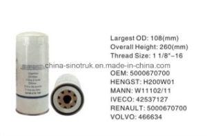 На заводе высокого качества питания топливного фильтра масляного фильтра 5000670700 для автомобилей Renault