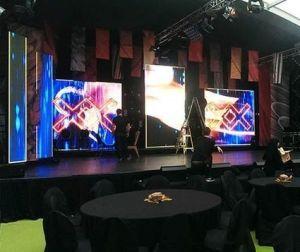 Indoor P3.91mm mur vidéo pour la phase d'événements Affichage LED