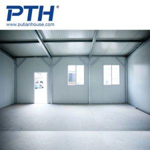 Casa de prefabricados con estructura de acero de la luz para el aula y el edificio de oficinas