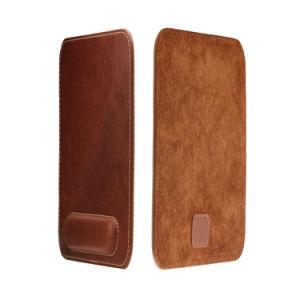 Mouse pad em pele genuína de luxo com o punho restante