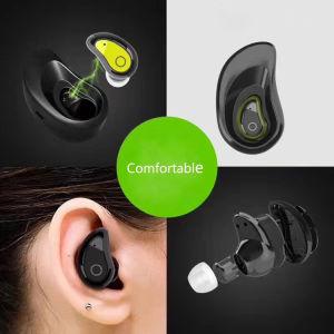 Novo Single Tbs-8 Mini fone de ouvido estéreo Bluetooth sem fio com banco de Carga
