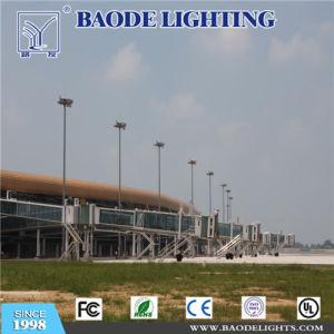 Baodeは屋外ライト15m 400W高圧ナトリウムの高いマストの照明タワーをつける