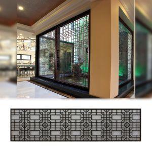 L'écran de bois antique chinois de la reproduction de l'écran de bois d'ingénierie
