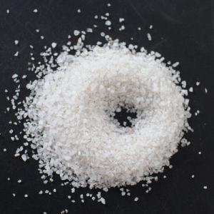 높은 실리카 내용 저가를 가진 백색 실리카 모래