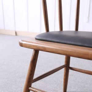 Barra de madera maciza Café moderno de madera Muebles de Comedor sillas para Restaurant