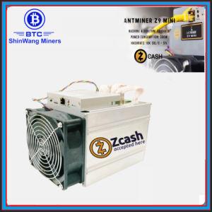 Mini minatore 10K Sol/S di Bitmain Antminer Z9 sul minatore dei chip di Equihash 300 W Asic a estrarre Zcash
