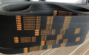 6pk Riemen van de Geribbelde van de Transportband van EPDM de Rubber AutoTiming van de Transmissie