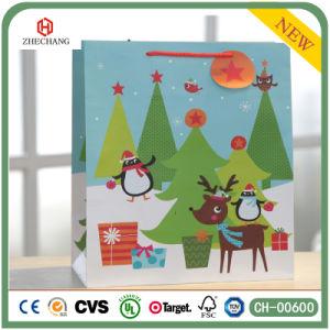 Оптовая торговля индивидуальные бумаги рождественские подарки бумажных мешков для пыли, магазинов бумажных мешков для пыли