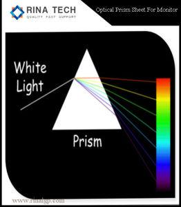 LED LCD 텔레비젼 싼 프리즘 필름을%s 프리즘 장