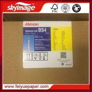 Inchiostro solvibile di Mimaki BS4 per il bello contrassegno dell'interno ed esterno