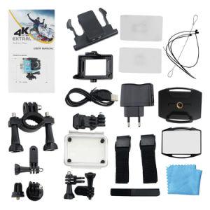 4K Full HD 1080P водонепроницаемый спортивные камеры с помощью WiFi
