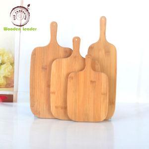 Planche à découper en bambou pour les aliments et pain de la plaque