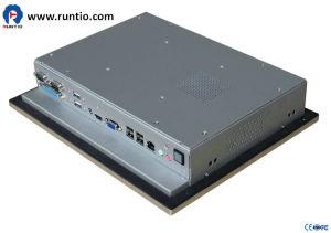 Runtio Fanless 15インチの産業タブレットのコンピュータ産業のオールインワンパネルD525の抵抗の接触