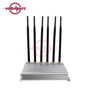 Emittente di disturbo della stanza delle emittenti di disturbo del telefono delle cellule/stampo del cellulare /Wi-Fi, emittente di disturbo CDMA/GSM/3G2100MHz/4glte Cellphone/Wi-Fi/Bluetooth