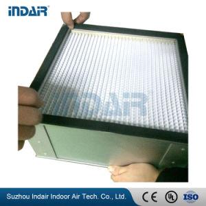 Глубокую гофрированный фильтр HEPA для чистой комнате с маркировкой CE