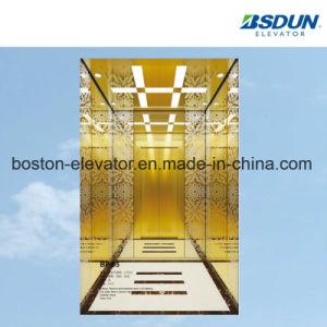 13명의 사람 나무로 되는 전송자 엘리베이터