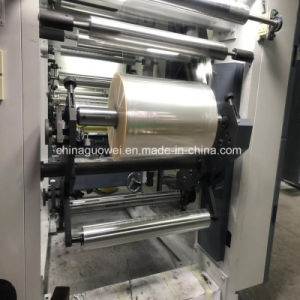 Tres de alta velocidad del motor de 8 colores de la máquina de rotograbado