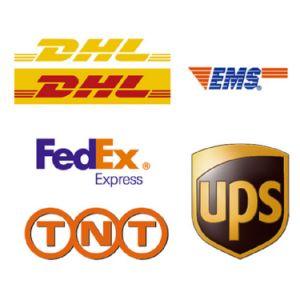 Huis-aan-huis Air Freight DHL aan de V.S.