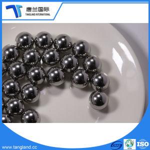 La bola de acero cromado de alta precisión para el rodamiento de bolas de ranura profunda para la bicicleta eléctrica