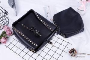 Mesdames fashion Sacs à main de femmes de rivet en métal sacs fourre-tout blocage SH813