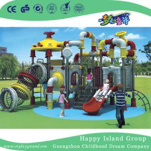 Vormde de OpenluchtWaterpijp van het Pretpark de Gegalvaniseerde Speelplaats van het Staal (hj-11201)