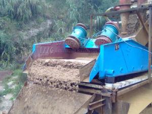 말리는 찌끼/점성 제거를 탈수하는 모래 석탄을%s 탈수 스크린 장비