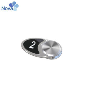 Нажмите кнопку Nvbs201 красный свет без Braile