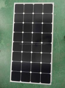 Retour à haut rendement-contact SunPower verre Panneau solaire 100W Module pour le système de 12 V
