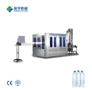 Automatique de haute qualité au jus naturel de l'eau de boisson gazeuse usine de remplissage de la machine