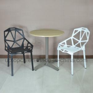 Moderne runde Gaststätte-Möbel-Plastiktisch und Stuhl für Schnellimbiß (SP-CT355)