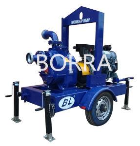 Luftkühlung-Schlussteil eingehangene selbstansaugende Dieselmotor-Wasser-Pumpe
