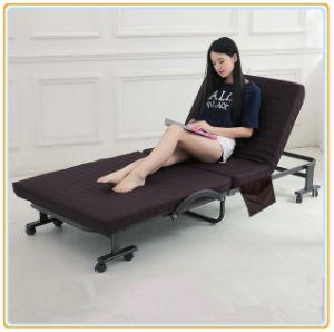 Metal Deluxe cama plegable cama plegable, viajero Camping cama
