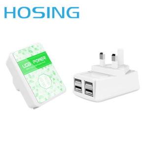 4 порта многофункциональный беспроводной Универсальный телефон дорожное зарядное устройство переменного тока с индикатором