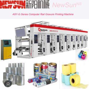 ASY G 기계장치를 인쇄하는 시리즈에 의하여 전산화되는 가로장 열 종이 사진 요판